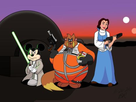 Disney and Don Bluth's Star Wars by BenJJedi