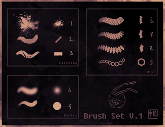 Dave's brushes v1 (PS) by DaveRabbit