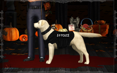 Ella the Police Officer, Halloween special by SuperCatScourge