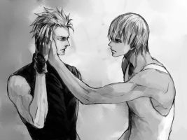 Dante X Vergil by mayolovesmaru