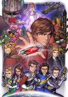 Power Rangers Dino Charge 'One More Energem' by Lysergic44