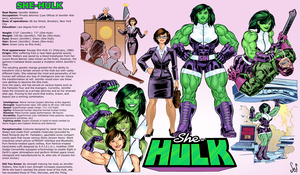 She Hulk Model Sheet High Res By Jebriodo by Chwen-Hoou