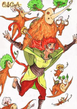 Lulu And WoodWalkers by Ogono