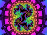 Snake Chromatic Dragon Fractal by bryceguy72