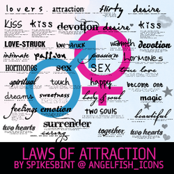 laws of attraction by spikesbint