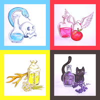 POTIONS by laminimouse