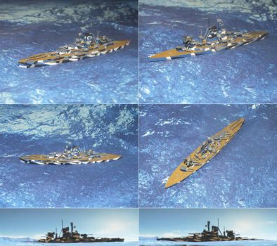 Scratch built SMS Hohenzollern by Baryonyx62