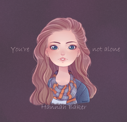 Hannah Baker by insanikei
