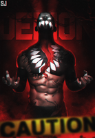 Finn Balor - Demon Taking Over by Sjstyles316