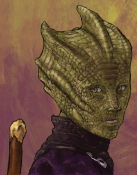 Madame Vastra by waryfalcon
