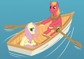 Fluttermac Rowboat by pageturner1988
