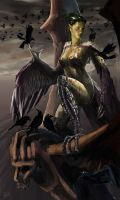 complete harpy also bra by QuyZone