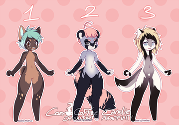 mmore kemono adopts - OPEN [LOWERED] by cozycoffee