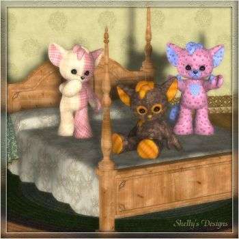 Plushie Bedtime by Shellyw