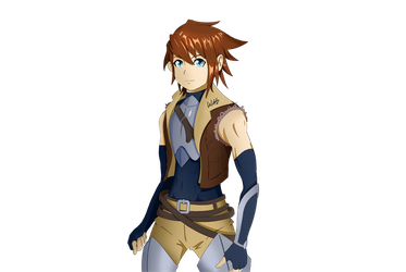 Male Protagonist Concept Rev1 by watang