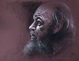 Old man by pwerner4155