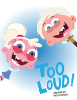 Too Loud Poster by IMG157