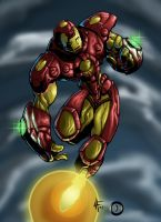 Iron Man by psychoheat