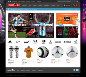 Soccer4All - Magento Website by Axertion
