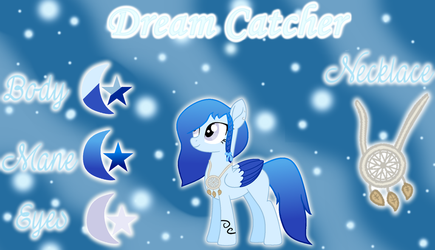 Dream Catcher Reference Sheet by ForTheLuvOfApplejack