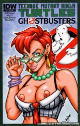 Naughty Janine Melnitz bust cover by gb2k
