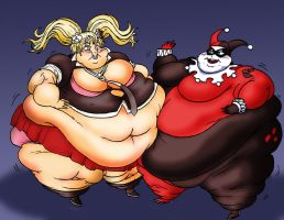 Junko and Harley by Yer-Keij-fer-Cash