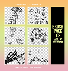 brushes x pack 03 by steeinglass