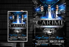 Carimi Party Flyer by Gallistero