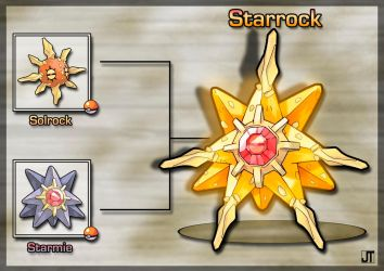 PokeFusion: Starrock by JT-PokeKa