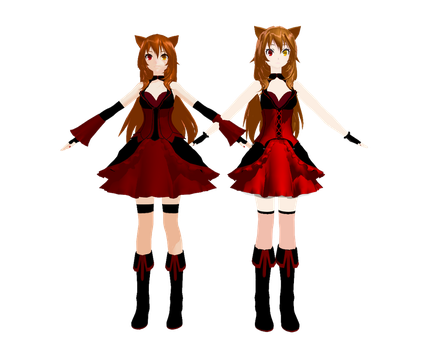 MMD Do you see now.... by kurumi13