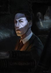 Lovecraft by Satibalzane