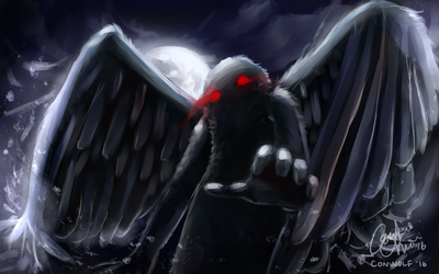 Mothman by conwolf