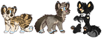 Puppy Adopts :OpEN- Re-Uploaded: by PilusWorks