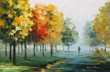 Morning breeze by Leonid Afremov by Leonidafremov