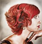 Red'n curly by Demirhanocak