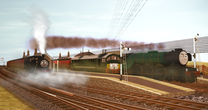 Evening Flyby at Garsdale Station by Nictrain123