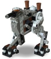 Scout Steam Bi-Walker Mk. XXXI by RRaillery