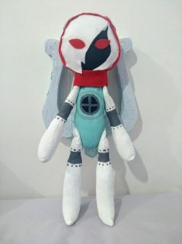 Orpheus plushie with his lyre by nebuly