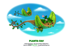 Daily 1332. Planta-Ray by Cryptid-Creations