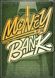 WWE Money In the Bank 2014 Poster by RicGrayDesign
