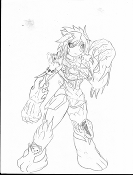 ice golem musume ver. by dec-5