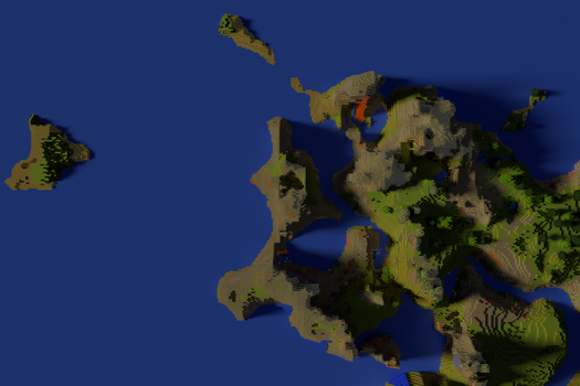 First Try on a Minecraft Render by MCOfficer