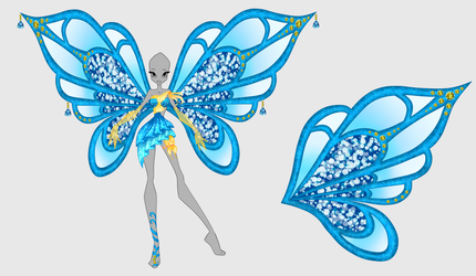 Commission: Liria Enchantix Design by octaviaair