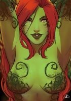 Poison Ivy 2016 SketchCard by Future-Infinity