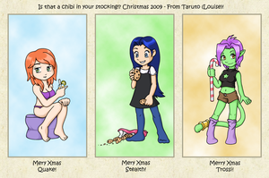 Chibis in Your Stocking? by taruto