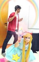 Star and Marco_ Star Vs The Forces of Evil_Cosplay by NeeHime