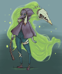 Plague Doctor Kindred by OMGiiH