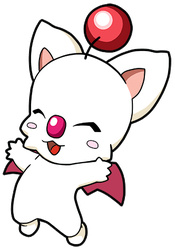 Final Fantasy Moogle by JoeOiii