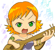 Elf Bard by tacotown