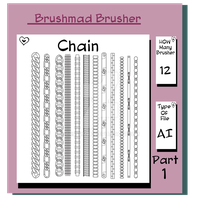 Illustrator Chain brush part 1 by brushmad